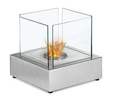 Ethanol Fireplace, Tabletop Ventless Fireplace - Eco Friendly, Modern, New!