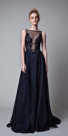 208 prom dress, black long prom dress, elegant black long prom dress evening dress party dress