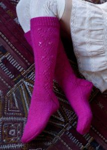 Stitch Nation Washable Ewe Sweetheart socks-how cute are these?
