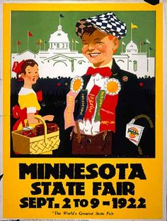 Poster for the 1922 Minnesota State Fair