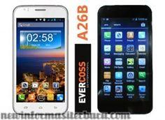 Smartphone Evercoss A26B banyak dibicarakan orang sebagai salah satu smartphone Evercoss terbaru 2014 yang cukup banyak digemari banyak orang