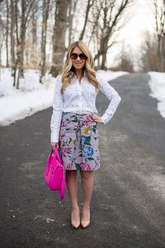 What I Wore to Work Linkup #63 - Mix & Match Fashion