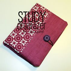 Easy to make study organizer, pencilcase, notepad and several pockets.