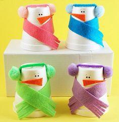 Sneeuwpop beker