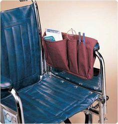 Combo Walker Wheelchair Bag Burgundy | eBay