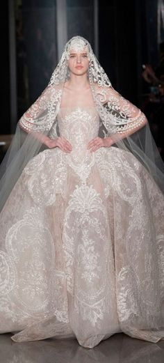 A wedding dress for Jeyne Westerling: Elie Saab - Haute Couture S/S 2013