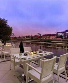 Doubletree Hotel, Oradea Romania Romania Bucharest, Outdoor Spaces, Outdoor Decor, Places Ive Been, Outdoor Furniture Sets, City, Beautiful, Home Decor, Romania