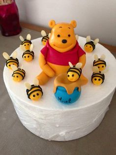 Cake Design Winnie Pot De Miel