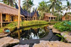 Bambu Indah - Bali, Indonesia Comprising a... | Luxury Accommodations