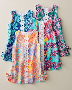 Little Lilly Shift Dress by Lilly Pulitzer® - Baby Girls & Girlsn aqua starburst=trippin and sippin