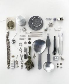 #silver and #grey #collection / #arranged
