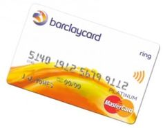 "Barclaycard Ring MasterCard card that will use ""the power of community crowdsourcing"""