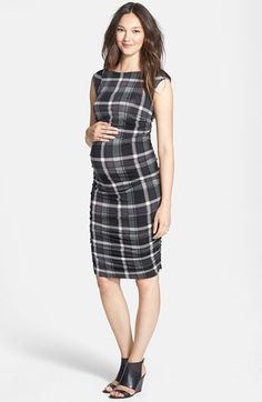 Cute dress to show off your new curves #maternity #fashion #Nordstrom