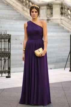 bello vestido para madrinas o damas de honor