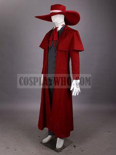 Hellsing Alucard Cosplay Costume | Cosplaywho.com