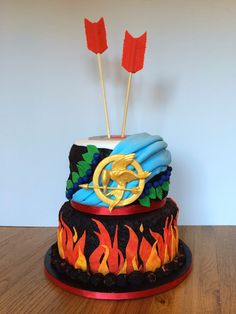 Southern Blue Celebrations: Hunger Games Cakes, Cupcakes, & Cookies