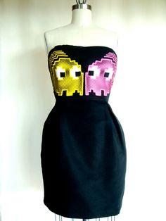 Pac Man Ghosts Dress