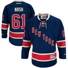 Reebok Rick Nash New York Rangers Premier Player Jersey - Royal Blue  Rangers Team de2f81b29
