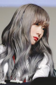 愼 ☼ ριητεrεsτ policies respected.( *`ω´) If you don't like what you see❤, please be kind and just move along. Cute Korean, Korean Girl, Asian Girl, Kpop Girl Groups, Kpop Girls, Cute Girls, Cool Girl, Wjsn Luda, Hair Reference