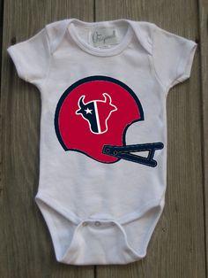 Texans Inspired Bodysuit for Baby