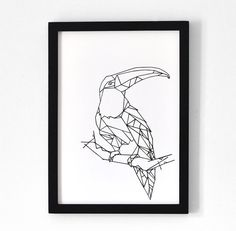 Tucano . One of a kind A3 print, in collaboration with the Rijksmuseum of Amsterdam