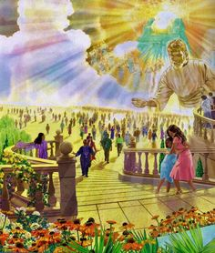 The Resurrection- The loving promise from Jehovah to see all our loved ones again. How we all cannot wait!!!!!❤️