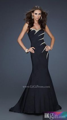 La Femme Floor-Length Prom Dresses - Style: 17198