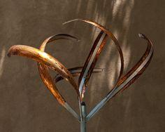 IRIS - BRONZED - Mark White, kinetic sculpture