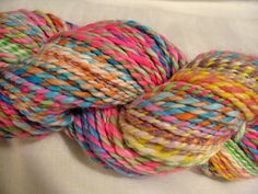 Faux Cashmere 2Handspun Two Ply Yarn by Fabulosity on Etsy, $30.00