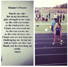 i love this prayer for track