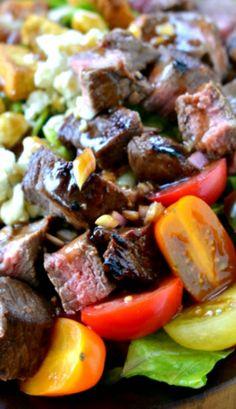 Balsamic Honey Grilled Steak