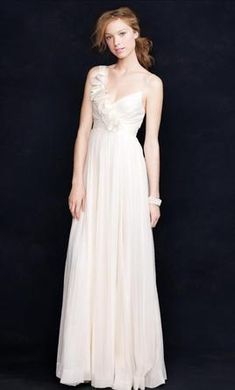 J. Crew wedding dress currently for sale at 60% off retail.