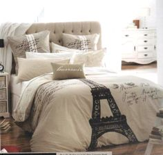 This Bedspread would look C'est Magnefique with my Paris, vintage inspired, pillows.