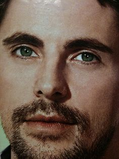 Matthew Goode... Love his eyes... And don't bother telling me its photo shop or contacts... Don't care... lol... Nice to look at all the same... ;)