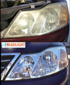 Foggy Headlights, Headlight Restoration, Car Cleaning, Car Detailing, Bmw, Vehicles, Glass, How To Make, Cleaning Cars