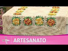 Vida com Arte   Mini Tapete com Flor Correntinha por Cristina Luriko - 30 de Junho de 2014 - YouTube