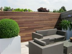 Dakterras : terras in Ipé - wandbekleding by OutdoorWoodConcepts, via Flickr