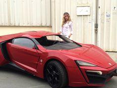 Lykan HyperSport, el famoso coche rojo que está causando furor en Rápidos y Furiosos 7