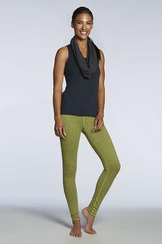 Spring style // olive green leggings #fabletics