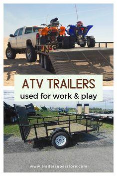20 Best Atv Trailers Images Atv Trailers All Terrain Vehicles Atv