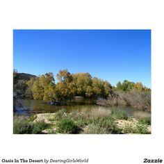 Oasis In The Desert Postcard