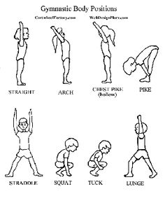 tiny tumble... body positions to work on with toddlers
