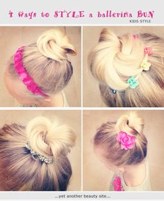 """CUTE GIRLS HAIR l UPDOS  we love this tutorial from """"Yet another beauty site"""" FOR HAIR IDEAS, ADVICE AND INSPIRATION VISIT  WWW.UKHAIRDRESSERS.COM"""