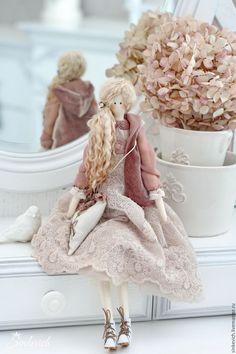 Купить Эйлин - тильда, кукла, кукла интерьерная, кукла Тильда, кукла…