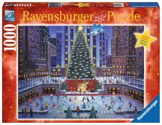 Ravensburger Puslespill - Jul i New York 1000 brikker Christmas Tree Care, Christmas Puzzle, Nyc Christmas, Christmas Toys, Holiday, Ravensburger Puzzle, 300 Piece Puzzles, Puzzle Shop, Free Puzzle