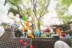 festa infantil fundo do mar arthur camys craft inspire-4