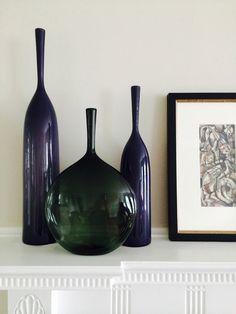 LA-based artist Joe Cariati #interiors #glass #accessories #decor