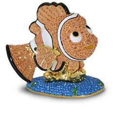 Disney Parks Finding Nemo Jeweled Figurine by Arribas Brothers New with Box