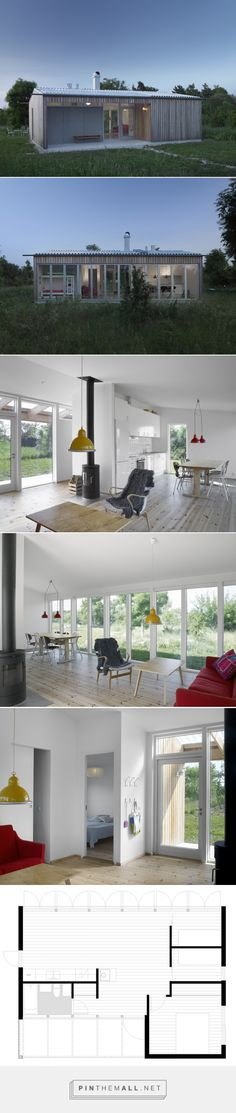 A Small Modern Home For A Family In Sweden | Humble Homes - created via http://pinthemall.net
