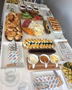 Breakfast brunch party meals new ideas Brunch Mesa, Food Decoration, Food Platters, Turkish Recipes, Food Presentation, Food Plating, Dessert Recipes, Food And Drink, Cooking Recipes